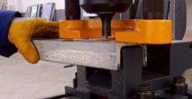 Пробиття КРУГЛИХ отворів в металі (Ø х S), мм: Ø33×20; Ø57×12; Ø110×4;